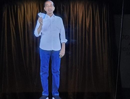 Hologram Jadi Ujung Tombak Dekatkan Jokowi ke Pemilih