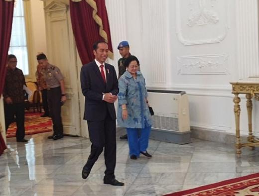 Megawati Ucapkan Selamat Kepada Jokowi