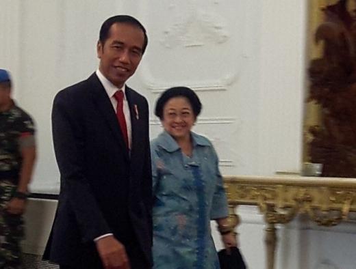 Pemenang Pilpres, Megawati Sampaikan Selamat ke Jokowi