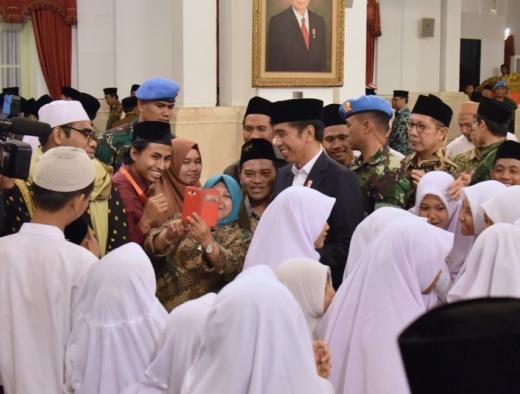 Peringatan Nuzulul Quran, Jokowi: Inspirasi Persatuan