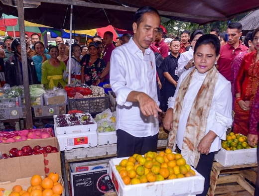 Jokowi Berharap Pasar Sukowati, Jadi Pasar Rakyat Modern