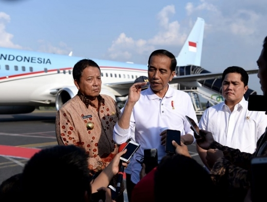 Jokowi: Manajemen Penanganan Gempa Maluku Sudah Lebih Baik