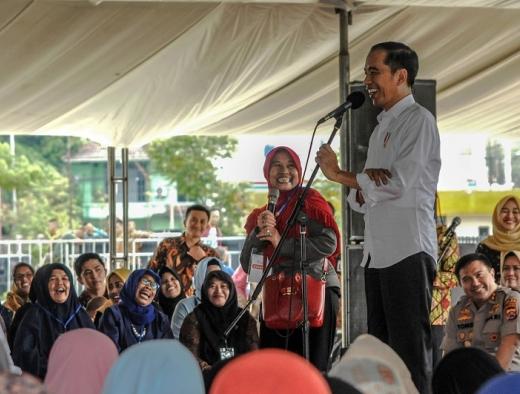 """Jadi """"Asian of The Year 2019"""", Ini Tanggapan Jokowi"""
