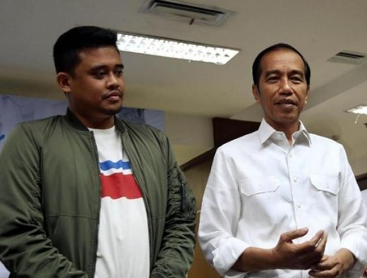 Bobby Ingin Miliki Semangat Membangun Seperti Jokowi