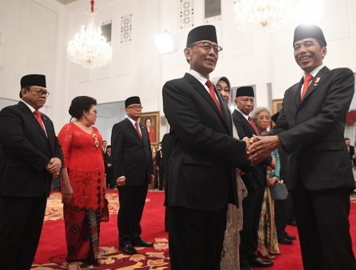 Sembilan Nama Wantimpres Jokowi,