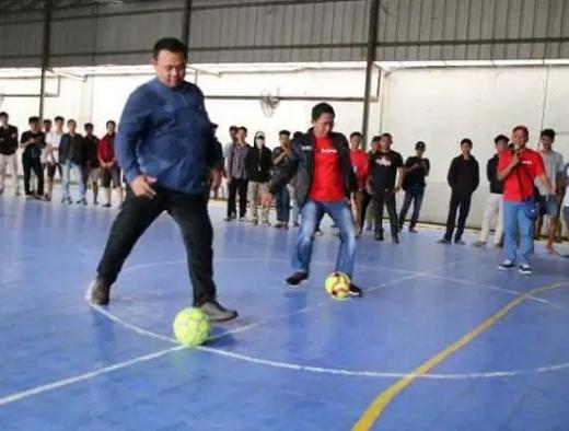 Turnamen Futsal PDI Perjuangan Tangerang Junjung Sportifitas