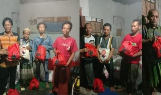 Banteng Kabupaten Pekalongan Bagikan 2.500 Paket Lebaran