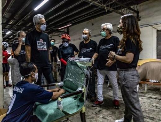 Ganjar Bahas Tren Konser & Musik di Tengah Pandemi Covid-19