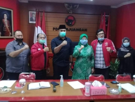 Pilkada Sukabumi, PDI Perjuangan & PPP Bangun Koalisi