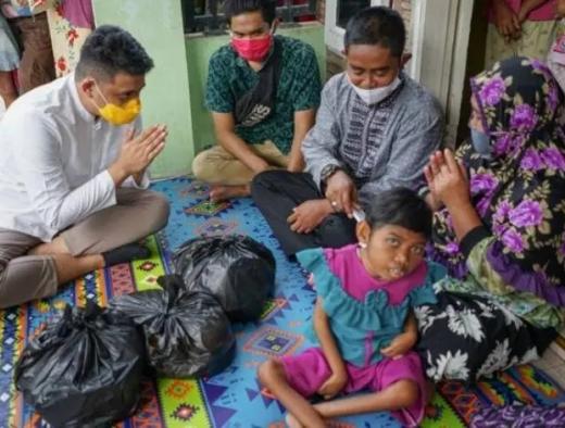 Sungguh Terenyuh, Bobby Nasution Kunjungi Nabila