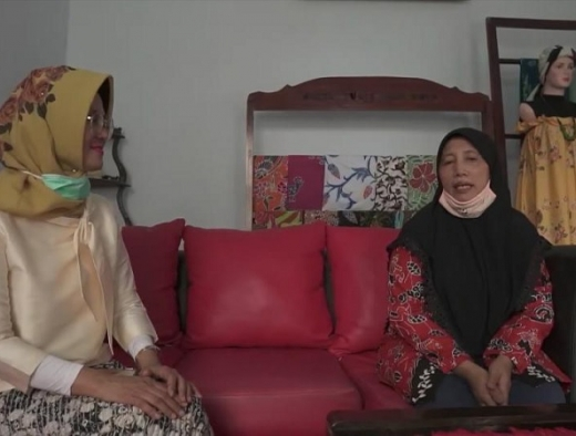 Tantri Barorah Angkat Pamor Batik Kabupaten Malang