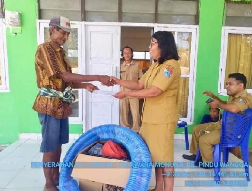 Sinergi Ansy & Kementan, Petani Sumba Timur Dapat Bantuan