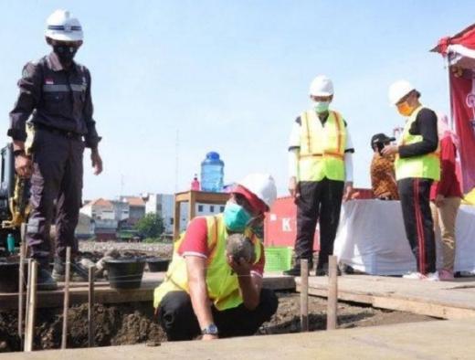 Wali Kota Rudy Sambut Mulainya Rehabilitasi Pasar Legi Solo