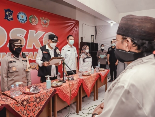 Eri: Penyekatan di Sisi Surabaya Bantu Posko di Bangkalan