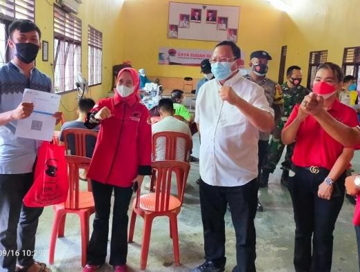 PDI Perjuangan Metro Vaksinasi Massal & Baksos 5 Kecamatan