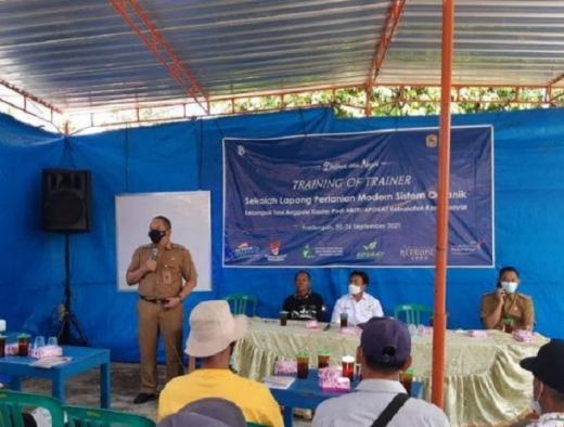 Rober: Sekolah Pertanian Sistem Organik Cerdaskan Penyuluh