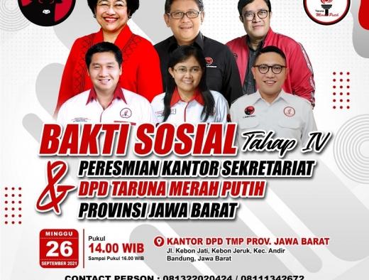 Hari Minggu, TMP Akan Bagikan 1.102 Sembako di Jawa Barat