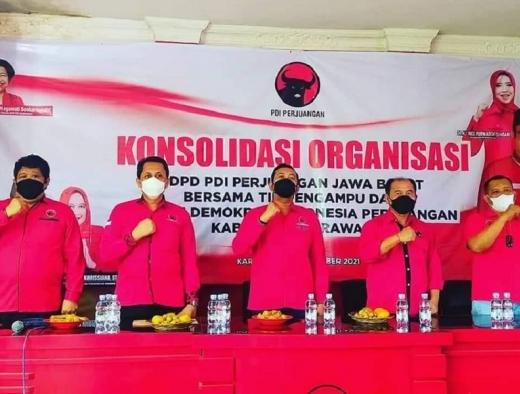 PDI Perjuangan Karawang Konsolidasi Persiapan Pemilu 2024