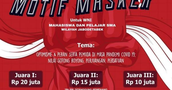 Sumpah Pemuda, DPP PDI Perjuangan Gelar Lomba Desain Masker