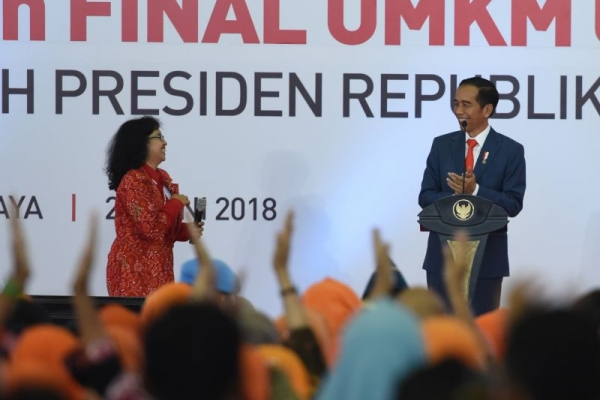 PPh Final 0,5 Persen, Presiden Harap UMKM Tumbuh Melompat