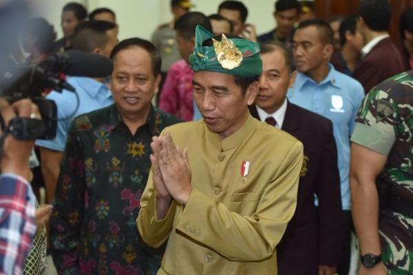 Di Bali, Presiden Sosialisasikan Penurunan PPh UMKM