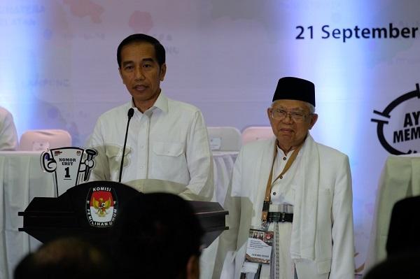 Jokowi: Nomor 1, Representasi Persatuan