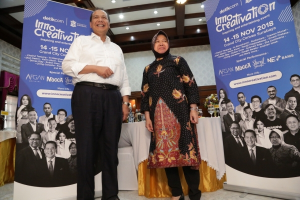 Risma Buka Ajang 'Innocreativation'