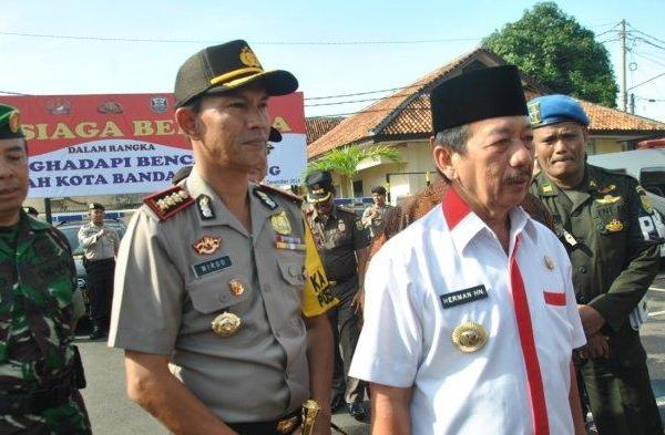 Herman HN Pimpin Apel Siap Siaga Bencana