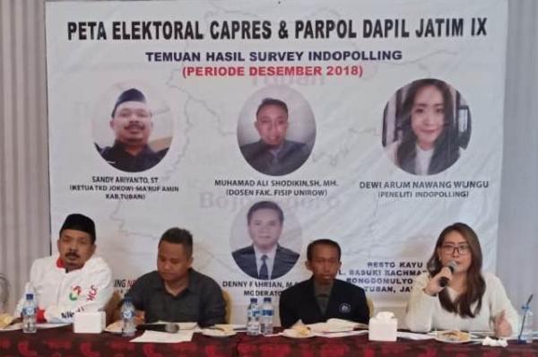 Elektabilitas PDI Perjuangan Naik di Dapil Jatim IX