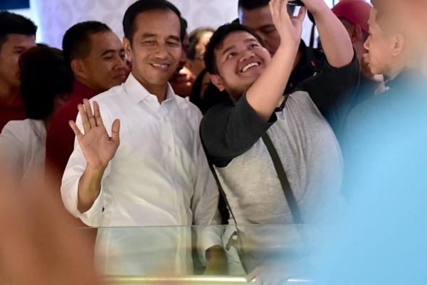 Jokowi Tepis Isu Kekacauan Pasca Pilpres 2019