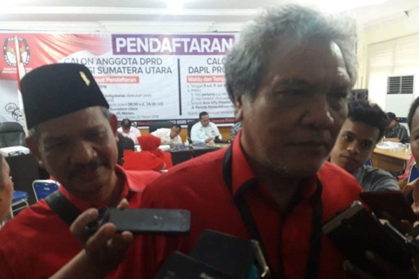 PDI Perjuangan Diprediksi Raih Kursi Ketua DPRD Sumut