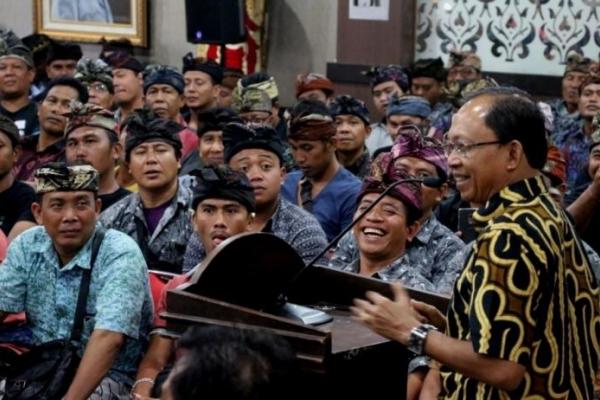 Pembangunan di Bali Diharapkan Dalam Satu Bingkai