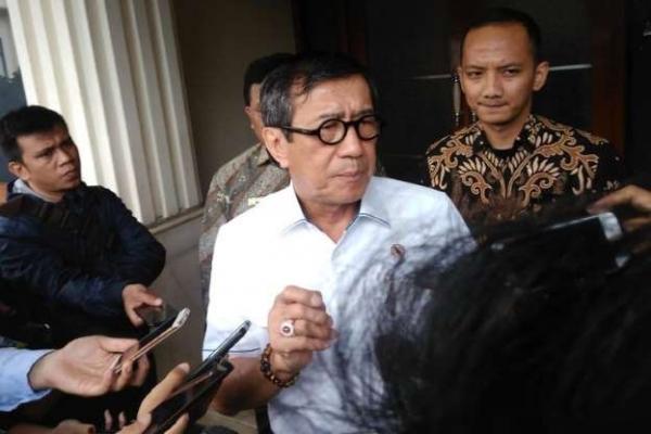 Yasonna Pastikan Pelayanan Publik di Kota Tangerang Normal