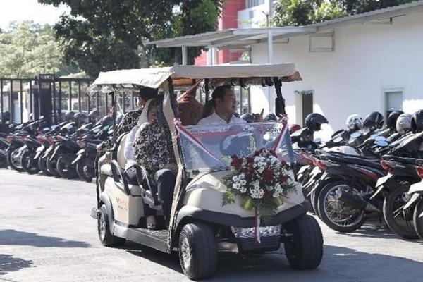Mantap, RSUD Semarang Pindahkan Pasien dengan Mobil Listrik