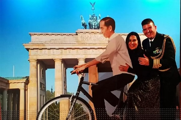 Sepeda Jokowi Ternyata Sampai di Berlin Jerman
