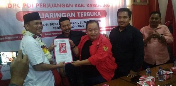 Berikut 8 Nama yang Kembalikan Formulir ke DPC Karawang