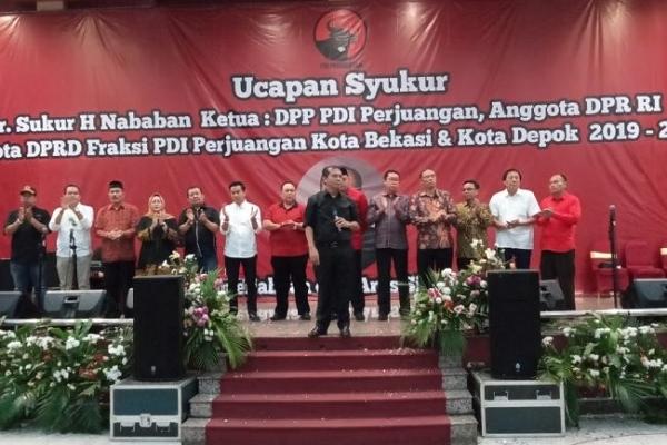 Kader Banteng Diminta Bantu TNI-Polri Jaga Pelantikan Jokowi
