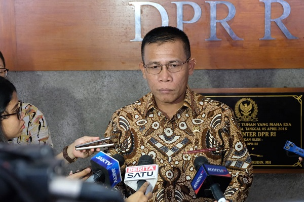 Sebut OTT Tak ada, Masinton: Ketua KPK Tak Paham Isi Revisi