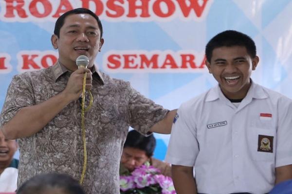 Hendi Ajak Generasi Muda Ikut Majukan Semarang