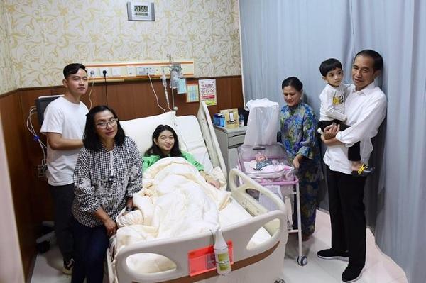 Ini Harapan Jokowi Untuk Cucu Ketiganya dan Arti Namanya