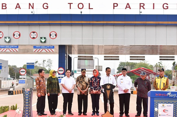 Tol Kunciran-Serpong Diresmikan, Dongkrak Ekonomi Banten