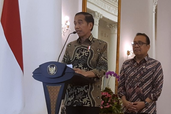Jokowi: Membangun Indonesia Butuh Semangat dan Keberanian