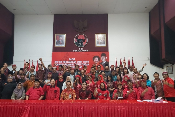 PDI Perjuangan Jatim Gelar Dialog Bidang Kebudayaan