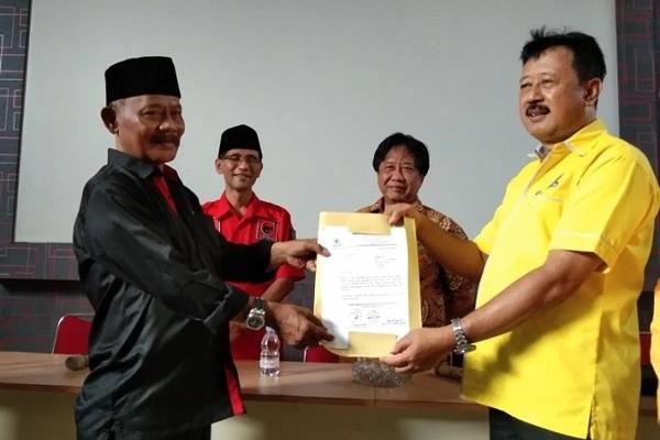 Pilkada Boyolali, Calon PDI Perjuangan Didukung Golkar