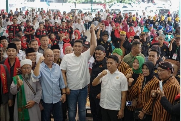 Bobby Nasution Ajak Warga Jawa Bersama Majukan Kota Medan