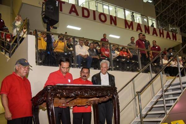 Presiden Harap Manahan Jadi Stadion Piala Dunia U-20
