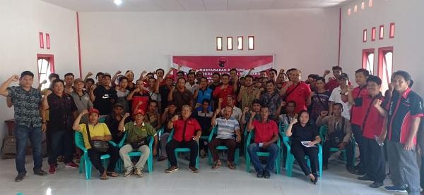 PDI Perjuangan Sintang Bentuk Pengurus di Ketungau Tengah