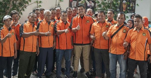 Bangun Medan, Bobby Kukuhkan Pengurus Relawan Bimantara