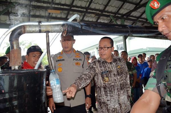Sujiwo Dorong Semua Pihak Terlibat Pencegahan Karhutla