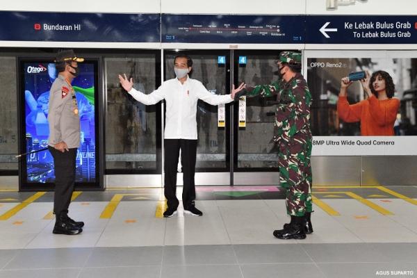 Presiden Inginkan Polri & TNI Ada di Tempat Keramaian